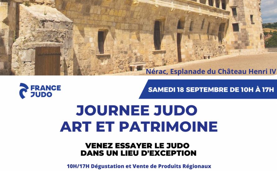 Journée JUDO Art et Patrimoine
